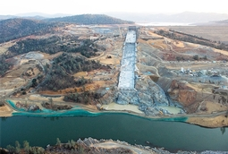 Lake Oroville spillways