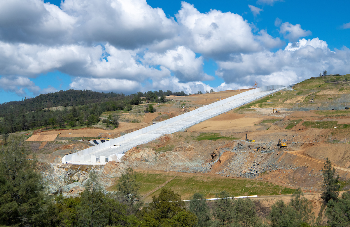 DWR Prepares for Potential Use of Oroville's Main Spillway