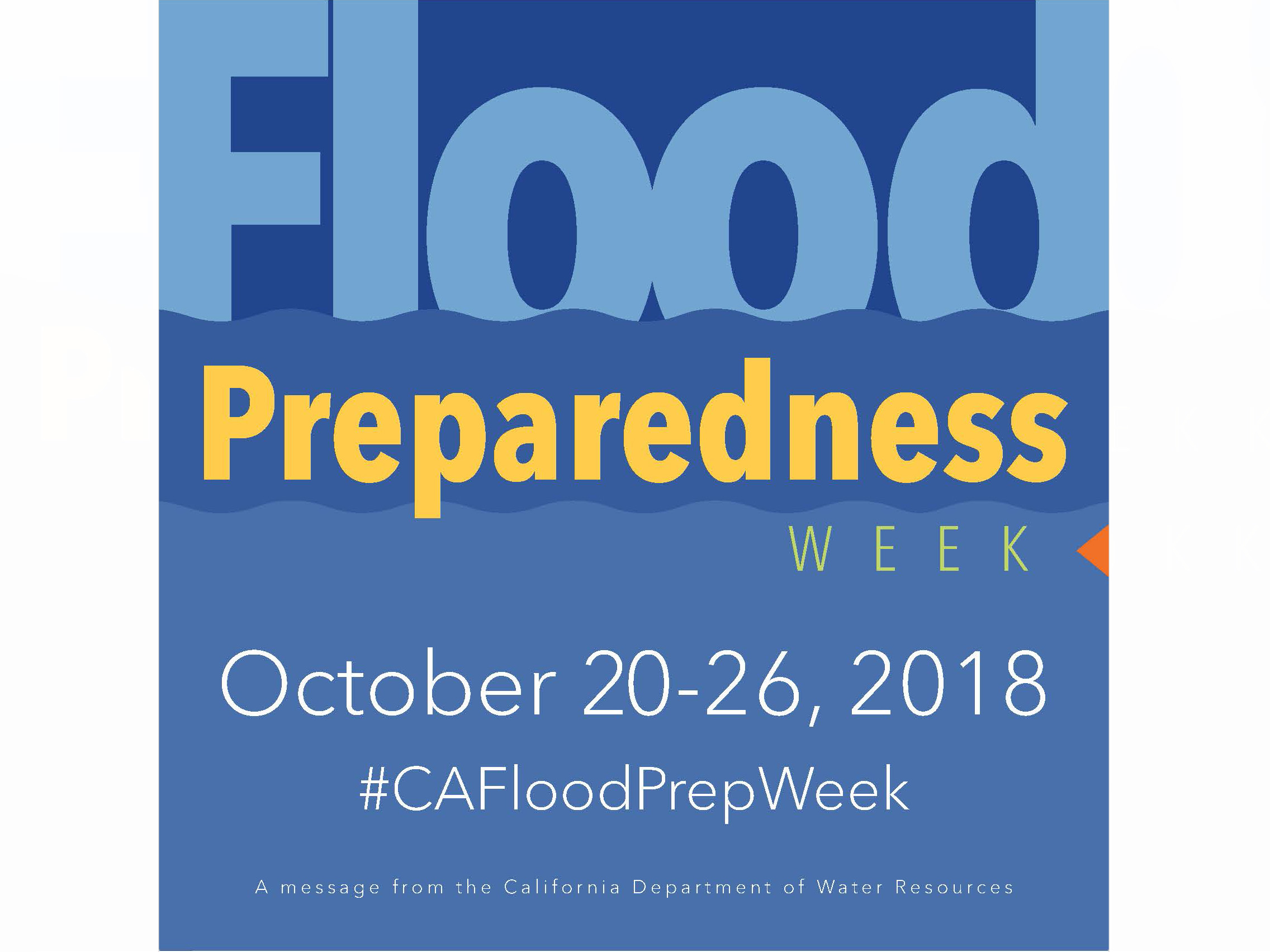 California Flood Preparedness 2018 graphic