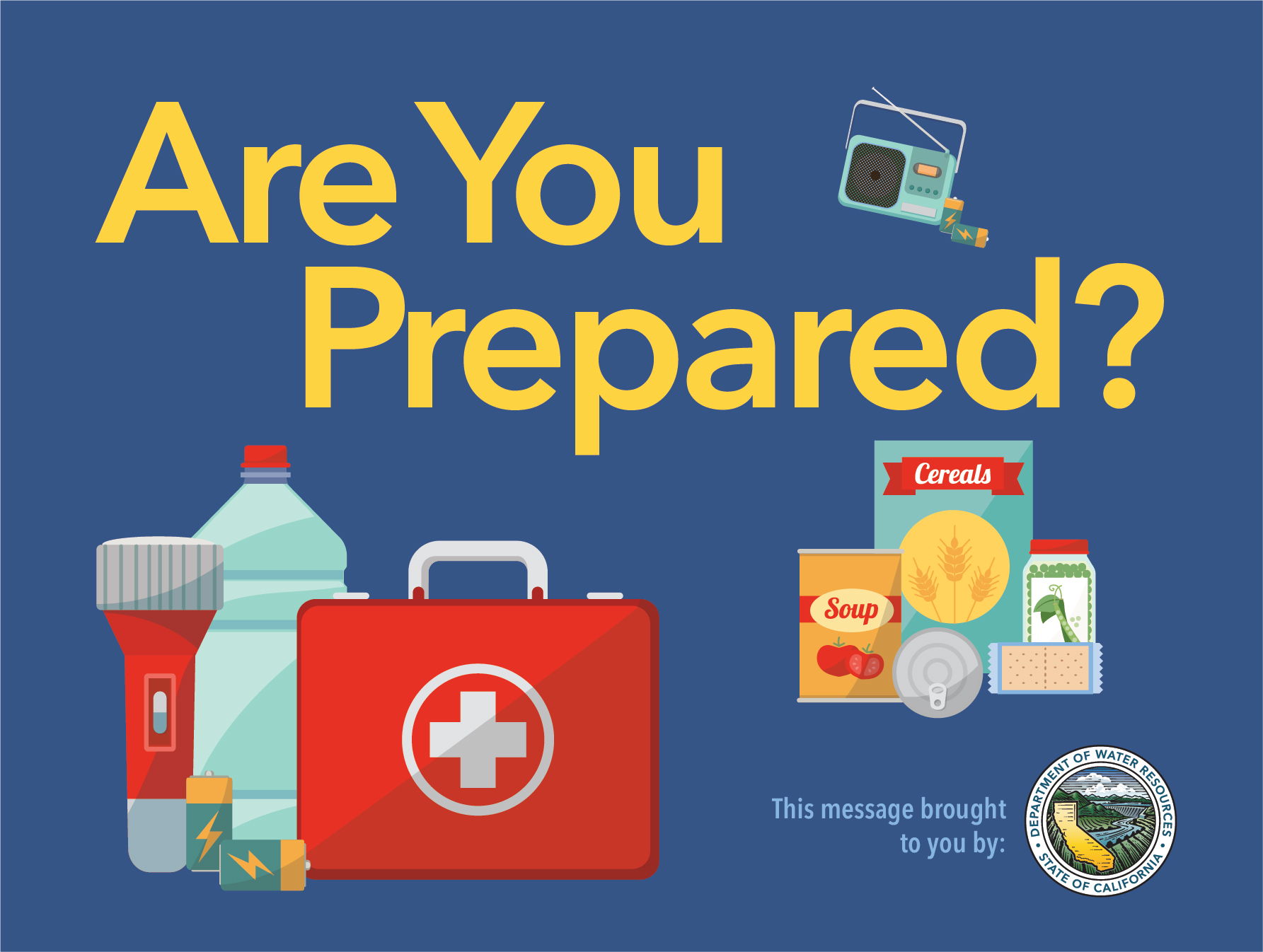 Are you prepared?' graphic