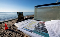 DWR education materials photographed by the Sacramento - San Joaquin Delta