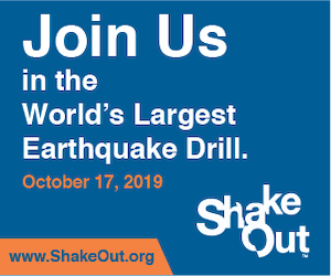 2019 Great Shake Out - www.shakeout.org