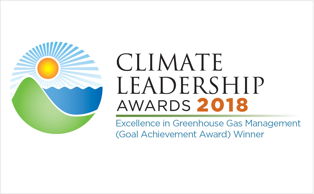 Climate Leadership Award logo