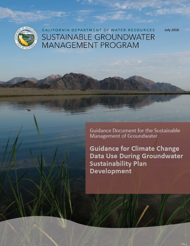 Climate Change Guidance Document Cover