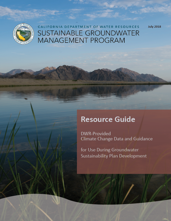 Climate Change Resource Guide Cover