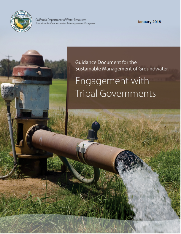 SGMA Guidance - Engagement with Tribal Governments