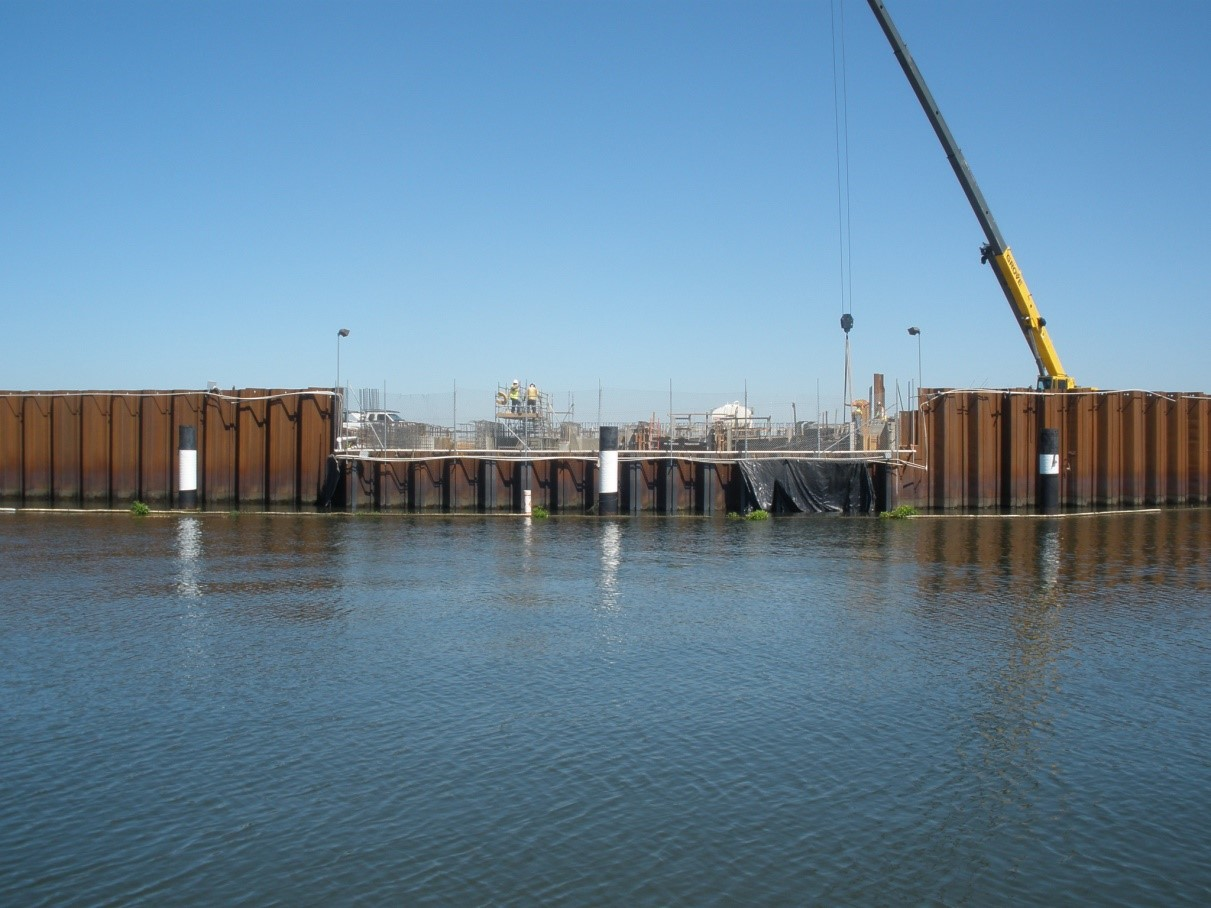 Stockton's Delta Water Supply Project Intake Project