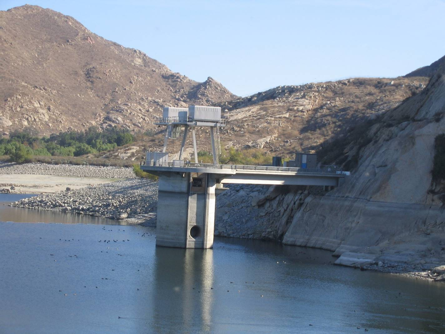 Perris Dam Outlet Tower